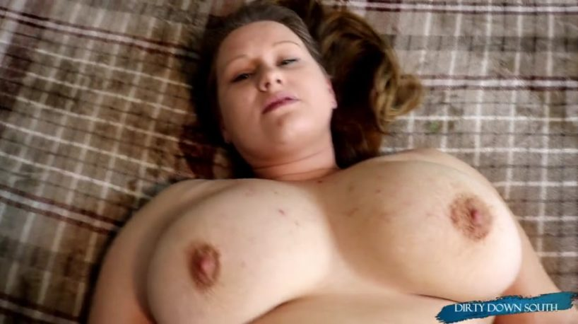 Big Tittied BBW Neighbor Gets Creampied in Missionary